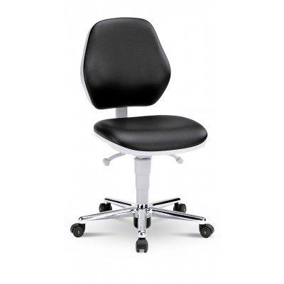 krzesło do pomieszczeń czystych sterylnych Cleanroom Basic 2/bimos/wysokie oparcie