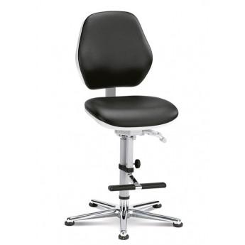 krzesło do pomieszczeń czystych sterylnych Cleanroom Basic 3/bimos/podnóżek