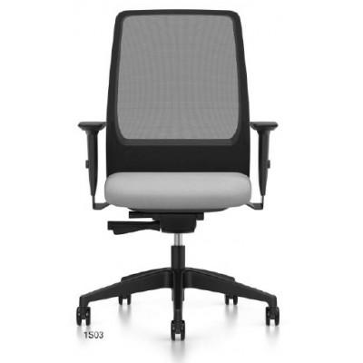 krzesło biurowe obrotowe AIMis1 Interstuhl kółka sitaka