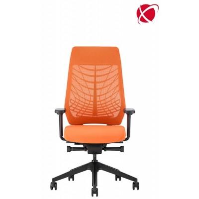 krzesło biurowe obrotowe kółka siatka system Flextech JOYCE IS3 INTERSTUHL