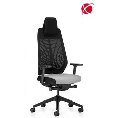 krzesło biurowe obrotowe kółka siatka zagłówek system Flextech JOYCE IS3 INTERSTUHL