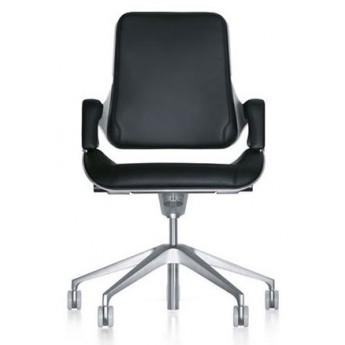 krzesło biurowe obrotowe fotel Silver zagłówek podłokietniki Interstuhl
