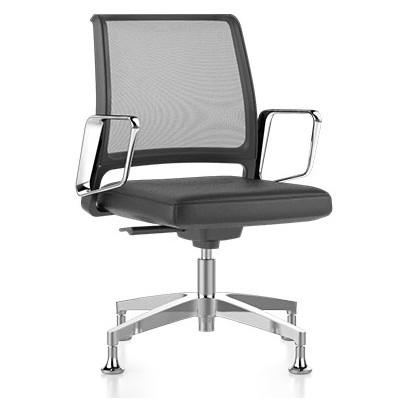 krzesło konferencyjne 10 lat gwarancji siatka VINTAGE is5 Interstuhl