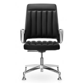 krzesło konferencyjne 10 lat gwarancji skóra VINTAGE is5 Interstuhl