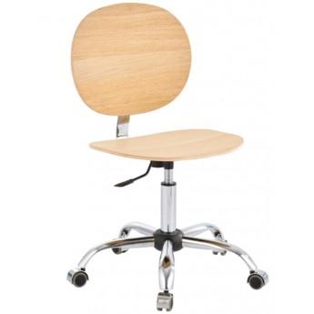 krzesło przemysłowe warsztatowe sklejka niskie
