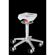 stołek taboret do pracy stojącej Ongo Roll Flex na kółkach niski lub wysoki