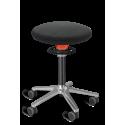 stołek taboret praca stojąca Ongo Roll kółka niski lub wysoki