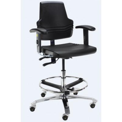 ESD krzesło przemysłowe laboratoryjne cleanroom Score At Work 4401