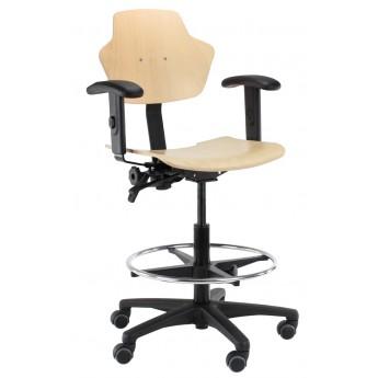 krzesło przemysłowe warsztatowe Score Spirit 1501