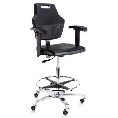 ESD krzesło przemysłowe laboratoryjne cleanroom Score At Work 4402
