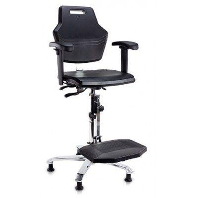 ESD krzesło przemysłowe laboratoryjne cleanroom Score At Work 4408