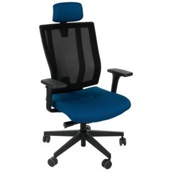 krzesło biurowe obrotowe MAXPRO siatka podłokietniki